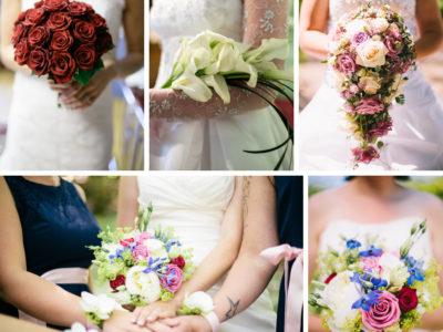 Inspiration till bröllopet - Brudens bukett del 1