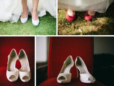 Inspiration till bröllopet - Brudens skor