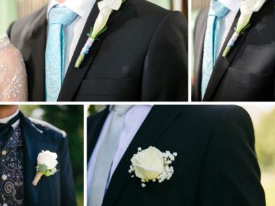 Inspiration till bröllopet – Brudgummens corsage del 1
