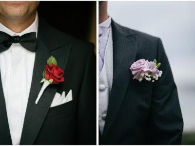 Inspiration till bröllopet – Brudgummens corsage del 2