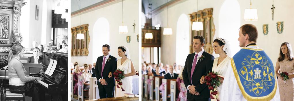 bröllop trollhättan hjärtums kyrka vigsel musik sång