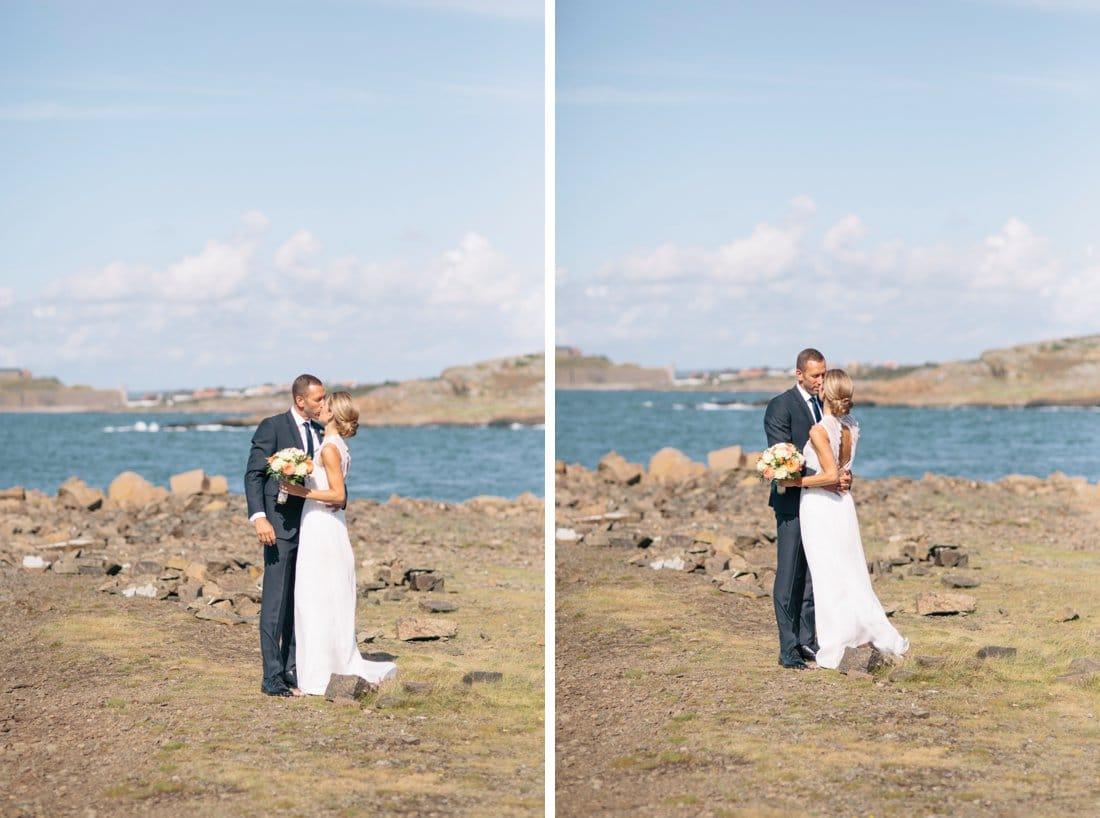 bröllop porträtt