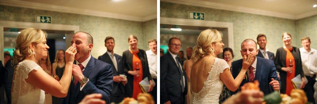 tårta ansikte bröllop