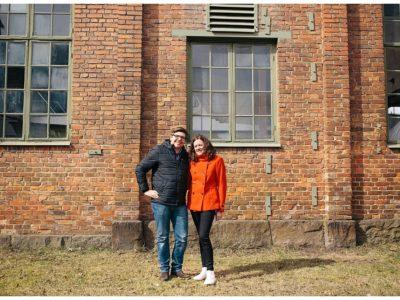 Tillbaka till Åminne bruk med Helen & Johan