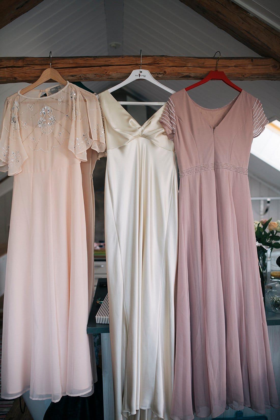vintage brudklänning