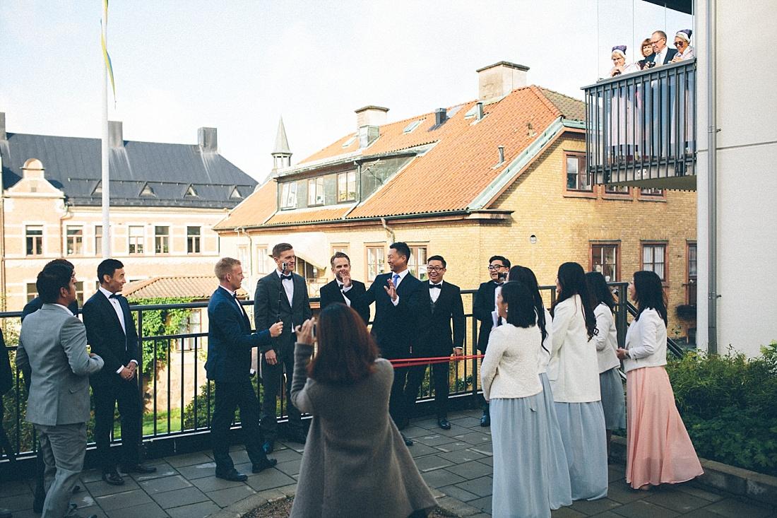 asiatiskt bröllop lekar